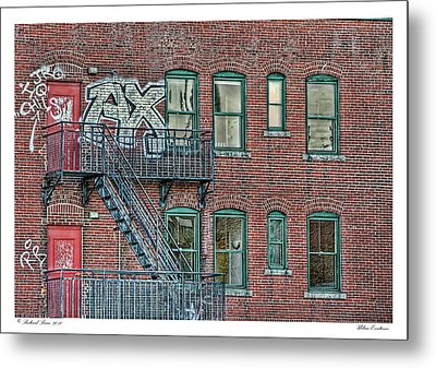 Metal Print featuring the photograph Urban Existence by Richard Bean