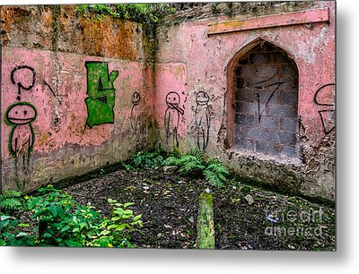 Urban Exploration Metal Print by Adrian Evans
