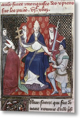Urban II C. 1035 - 1099. Pope Metal Print