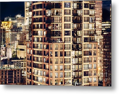 Metal Print featuring the photograph Urban Living Dclxxiv By Amyn Nasser by Amyn Nasser
