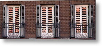 Urban Reflections Metal Print by Frank Tschakert