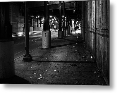 Urban Underground Metal Print by Scott Norris