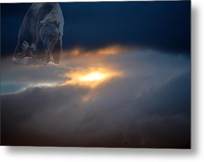 Ursa Major  -  Great Bear Metal Print by Kevin Bone