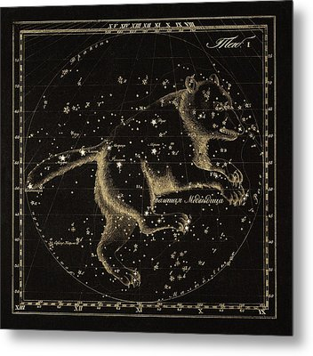 Ursa Major Constellation, 1829 Metal Print by Science Photo Library