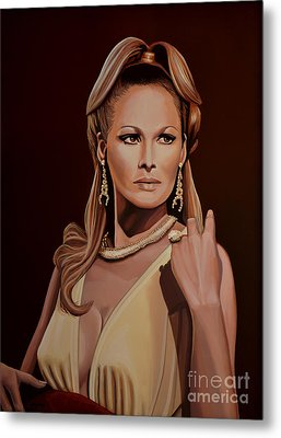 Ursula Andress Metal Print