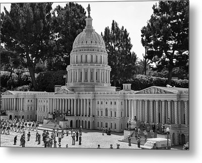 Us Capitol Metal Print by Ricky Barnard