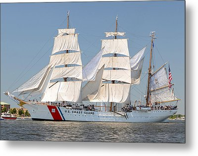 Us Coast Guard Eagle Metal Print