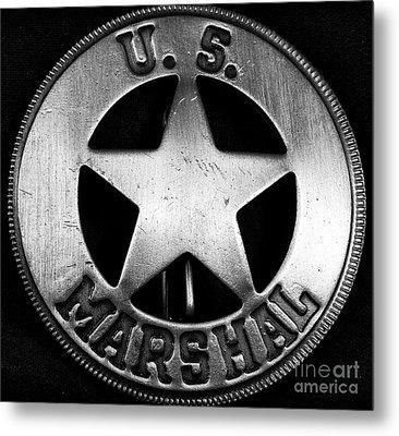 Us Marshal Metal Print