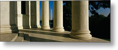Usa, District Of Columbia, Jefferson Metal Print by Panoramic Images