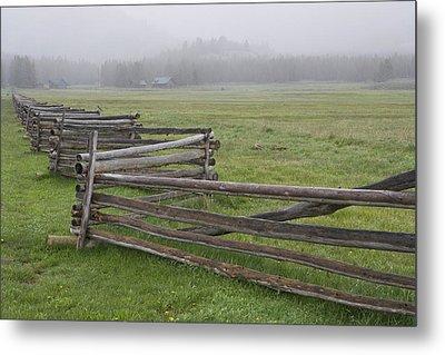 Usa, Idaho, Sawtooth Mountains Metal Print