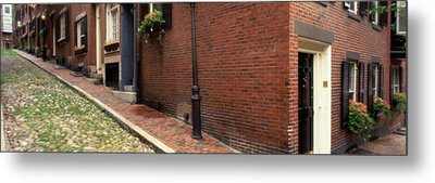 Usa, Massachusetts, Boston, Beacon Hill Metal Print by Panoramic Images