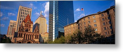 Usa, Massachusetts, Boston, Copley Metal Print by Panoramic Images