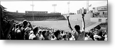 Usa, Massachusetts, Boston, Fenway Park Metal Print by Panoramic Images