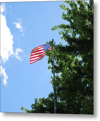 Metal Print featuring the photograph USA by Ramona Whiteaker