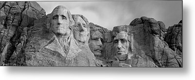 Usa, South Dakota, Mount Rushmore, Low Metal Print by Panoramic Images
