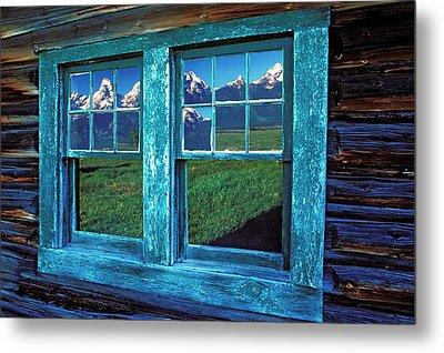 Usa, Wyoming, Grand Teton National Metal Print