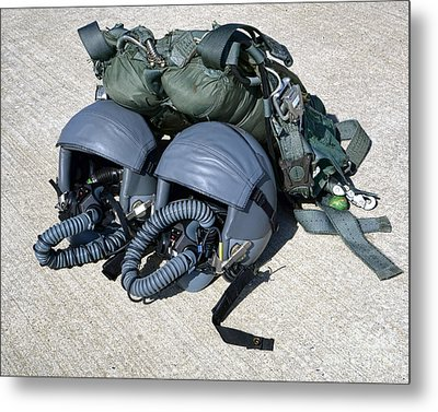 Usaf Gear Metal Print by Olivier Le Queinec
