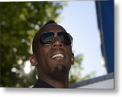 Usain Bolt - The Legend 1 Metal Print