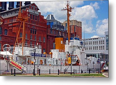 Uscg Cutter Taney Metal Print