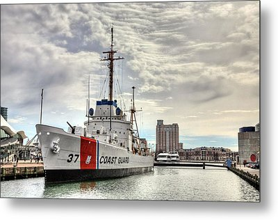 Uscg Cutter Taney Metal Print by JC Findley