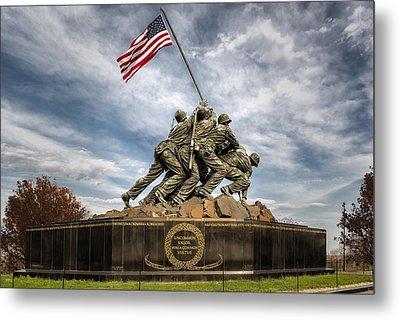 Usmc Iwo Jima Memorial Metal Print