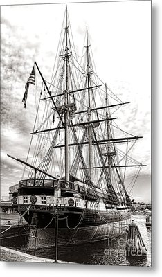 Uss Constellation Metal Print by Olivier Le Queinec