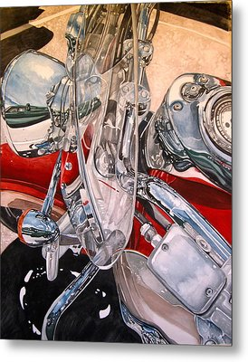 Utah Chrome Metal Print by Lance Wurst
