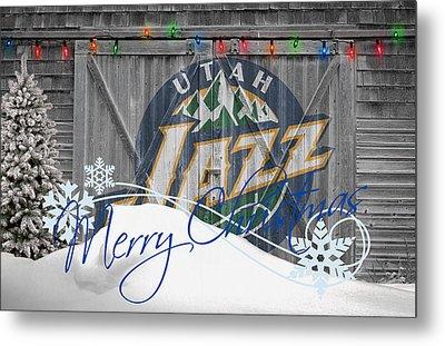 Utah Jazz Metal Print by Joe Hamilton