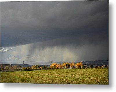 Utah Storm - 2 Metal Print