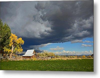 Utah Storm 2 Metal Print