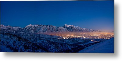 Utah Valley Metal Print by Chad Dutson
