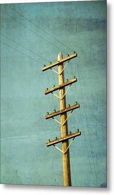 Utilitarian Metal Print by Melanie Alexandra Price
