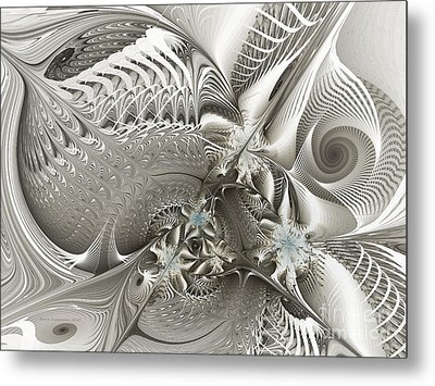 Utopia-fractal Art Metal Print