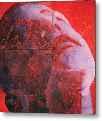 Uv Head Metal Print by Graham Dean