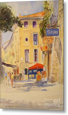Uzes France Metal Print by Beatrice Cloake