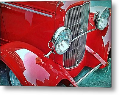 Metal Print featuring the photograph V8 by Victor Montgomery