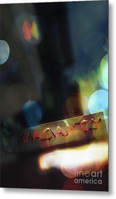 Vacancy Metal Print by Margie Hurwich