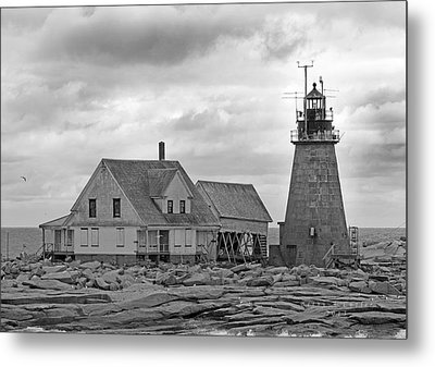 Vacant On The Ocean Metal Print by Betsy Knapp