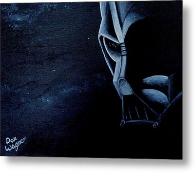 Vader Galaxy Metal Print