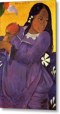 Vahine No Te Vi Metal Print by Paul Gauguin