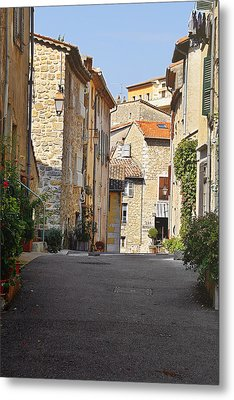 Valbonne - French Village Of Contradictions Metal Print