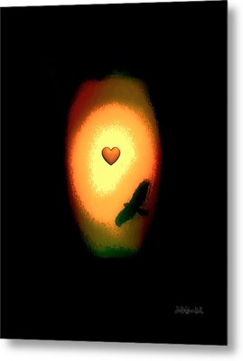 Valentine Heart 1 Metal Print by Brian D Meredith