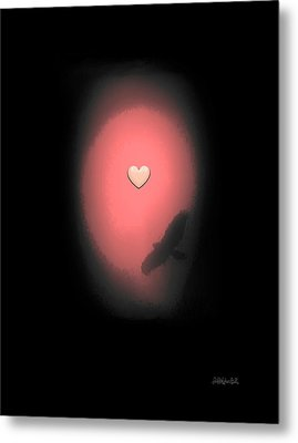 Valentine Heart 3 Metal Print by Brian D Meredith