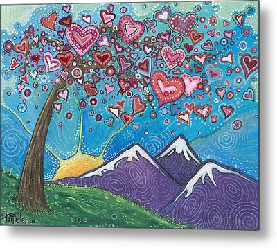 Valentine Wishes Metal Print by Tanielle Childers