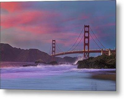 Valentine's Day Sunset Metal Print by Jeremy Jensen