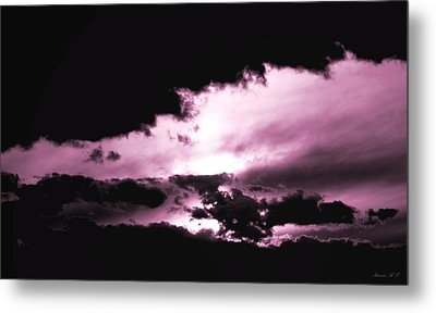 Metal Print featuring the photograph Valkyrie Sky by Amanda Holmes Tzafrir