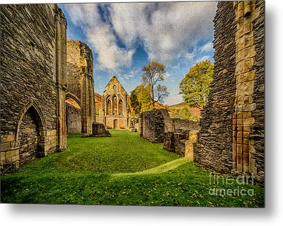 Valle Crucis Abbey Ruins Metal Print