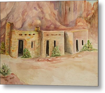 Valley Of Fire Cabins Metal Print