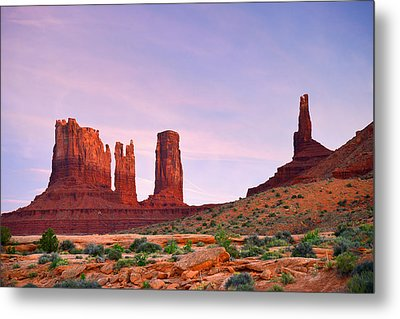 Valley Of The Gods - A Oasis For The Soul Metal Print by Christine Till