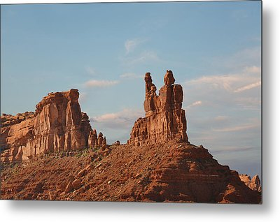 Valley Of The Gods - Escape From Civilization Metal Print